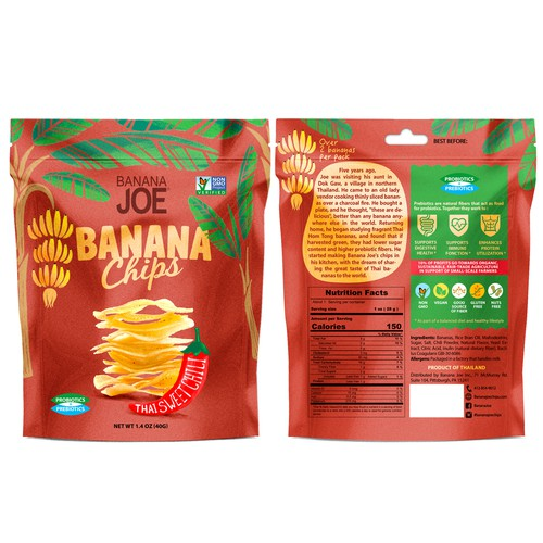 Young hip snack brand needs package refresh