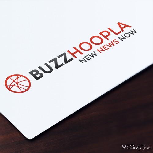 Buzz Hoopla Logo Design