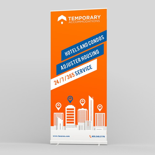 Design Tradeshow Banner for Housing Company