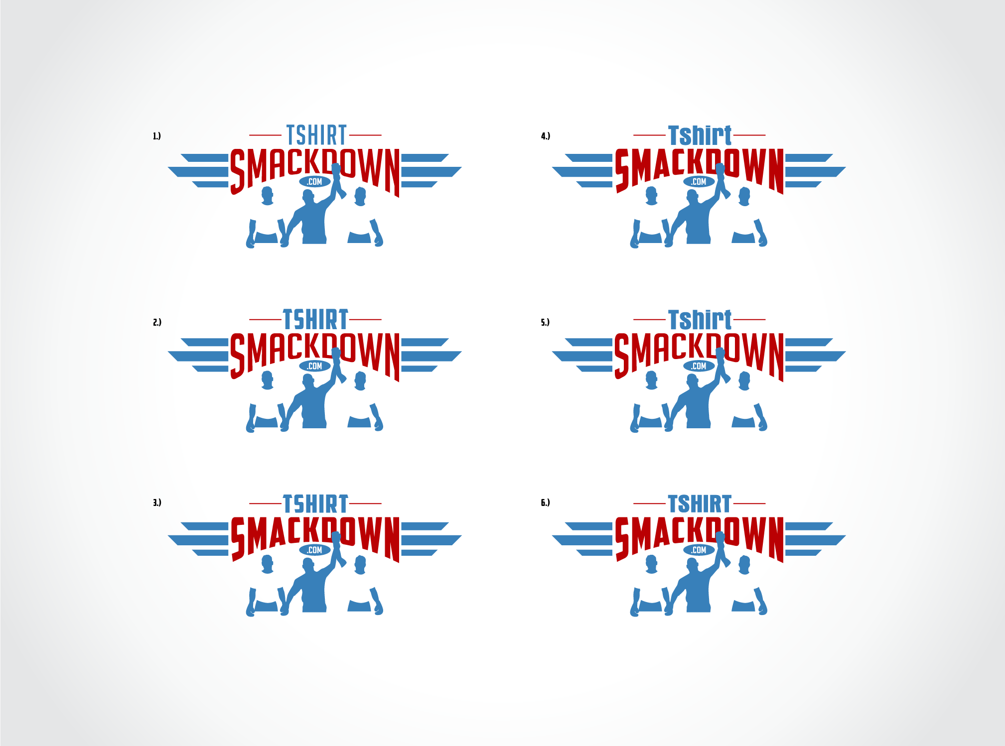 Help TshirtSmackdown.com with a new logo