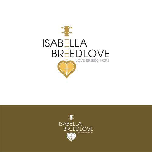 Design a powerful logo for Country Artist Isabella Breedlove