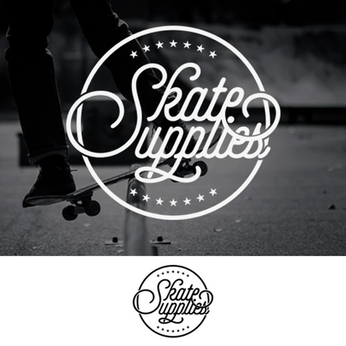 typographi design for skate supplies