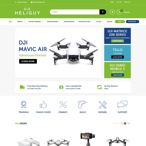 Heliguy Home Page