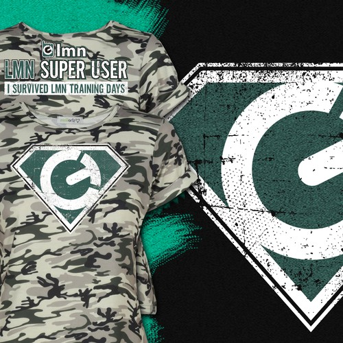 Create a 'Superhero' tshirt for our customers