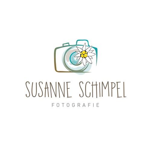Create a nice, modern logo for a photographer