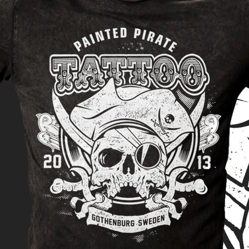 Pirate Tattoo Shop.