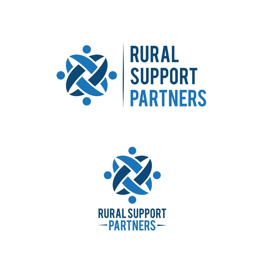 Use your creativity to design a professional, eye-catching logo for Rural Support Partners