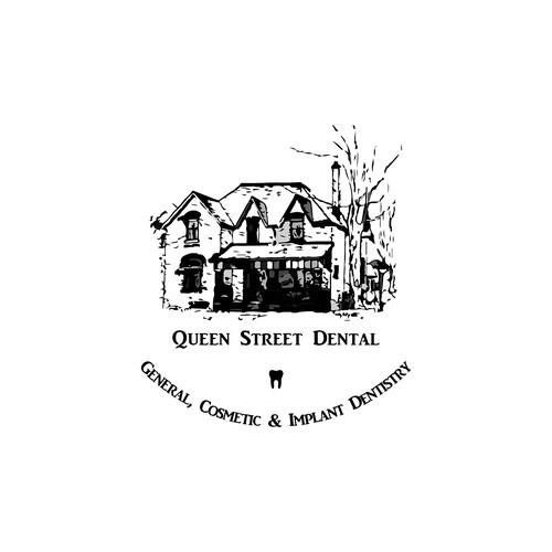 Logo for a village dentist.