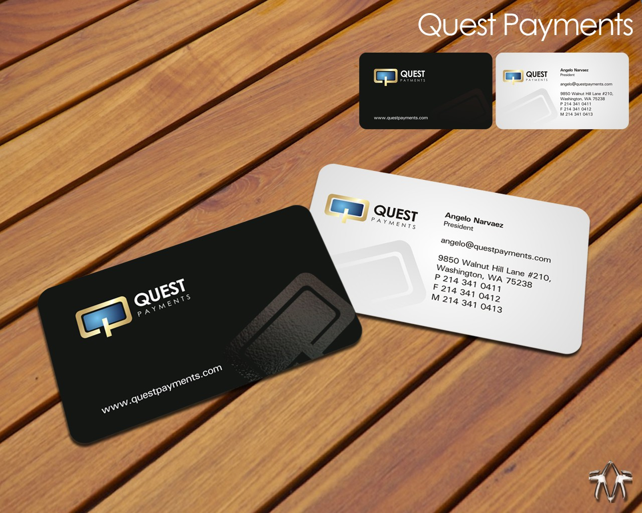 *****Quest Payments looking for a Modern Professional Identity*****
