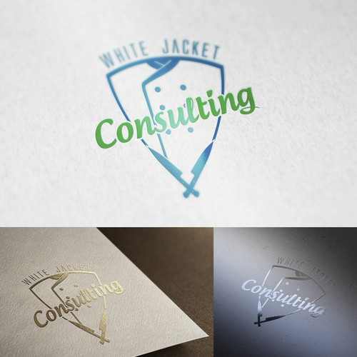 A smart, professional chef consultant logo for new business