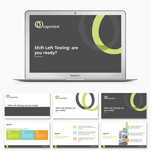 PowerPoint Presentation Redesign for Experitest