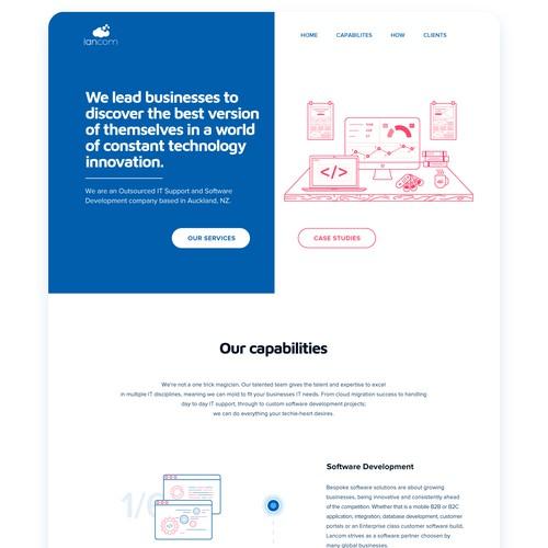 wep-page design for Lancom