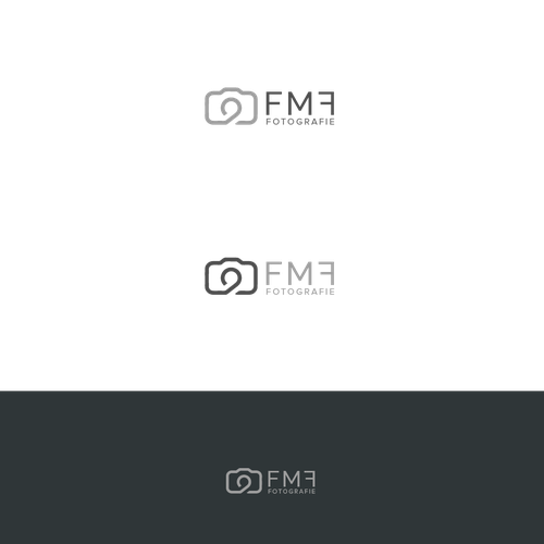 Simple yet Elegant Logo Concept For FMF Photography