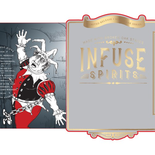 "Infuse Spirits ""Amontillado's Cask"" American Whiskey"