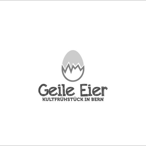 Logo challenge for egg benedict pop-up restaurant