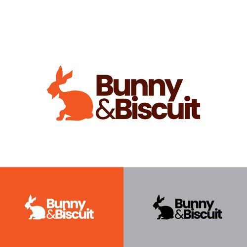 bunny dog cat logo