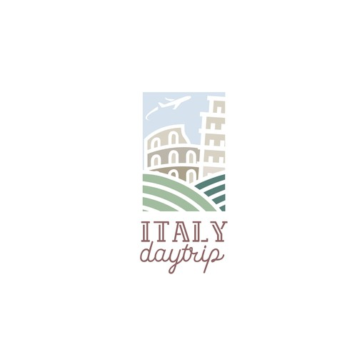 """Italy day trip"" Logo proposal"