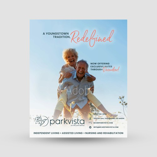Parkvista Advertisement poster