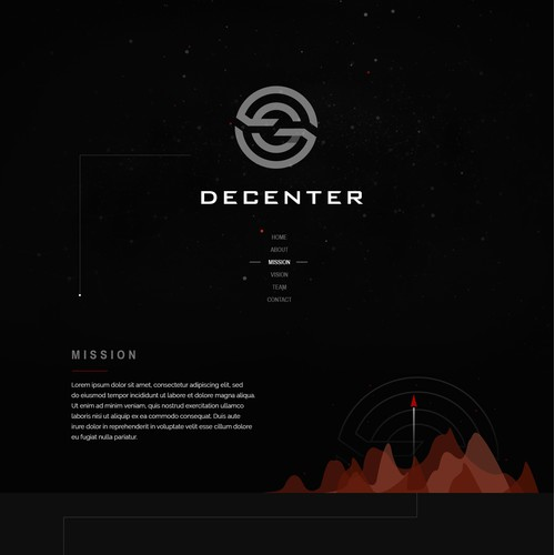 Website design concept