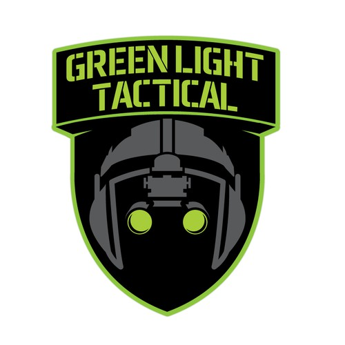 Logo for Green Light Tactical Company
