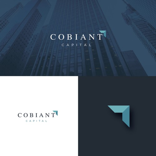 Investment company logo design.