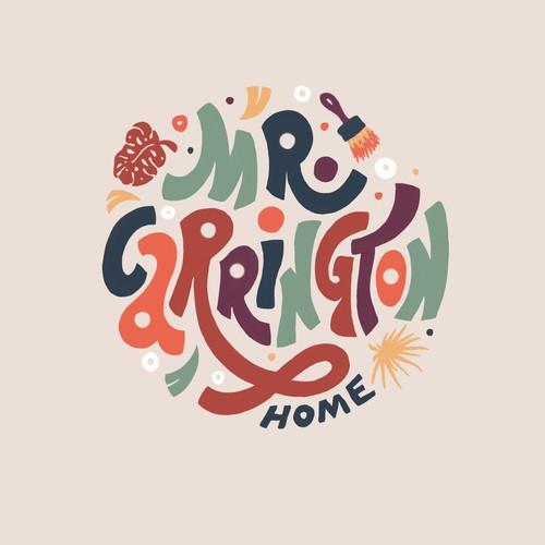 A concept for a fun and distinctive Logo for a Lifestyle/ Home Decor Vlogger