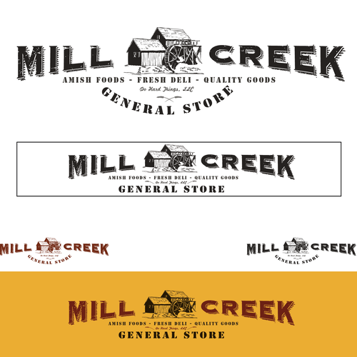 Help Mill Creek General Store with a new logo