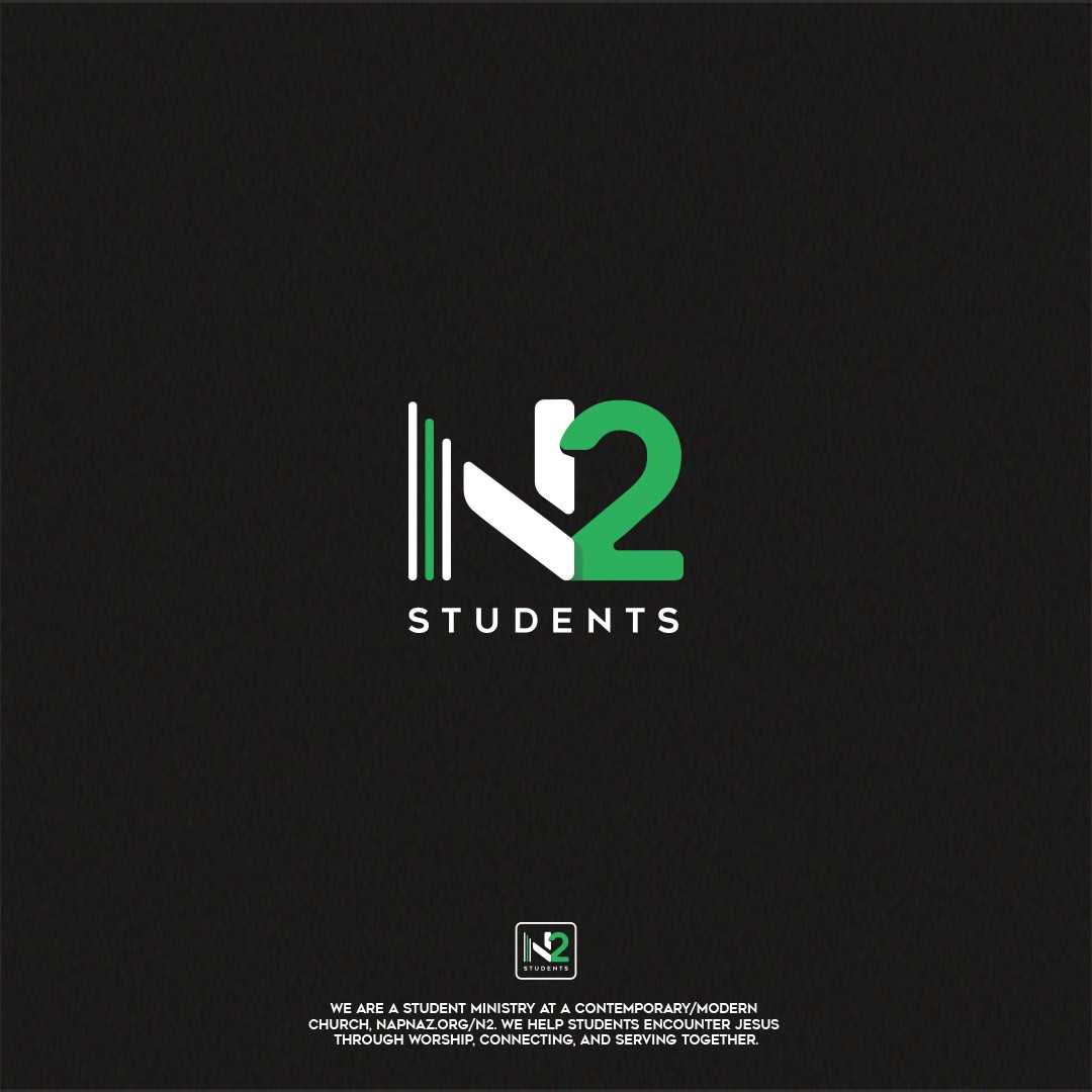 N2 Student Ministries logo refresh/redesign