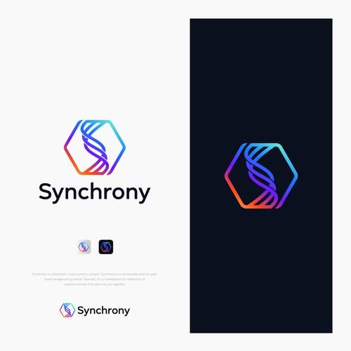 Logo for Synchrony