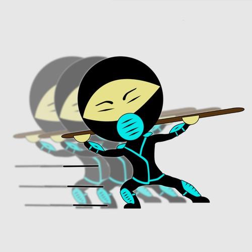 Ninja logo.