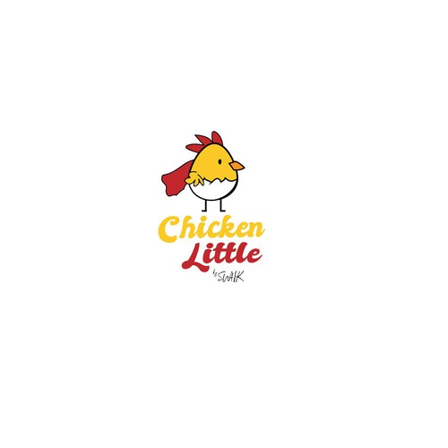 Bold logo for a restaurant