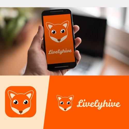 Logo design for a kids' speech & language learning app