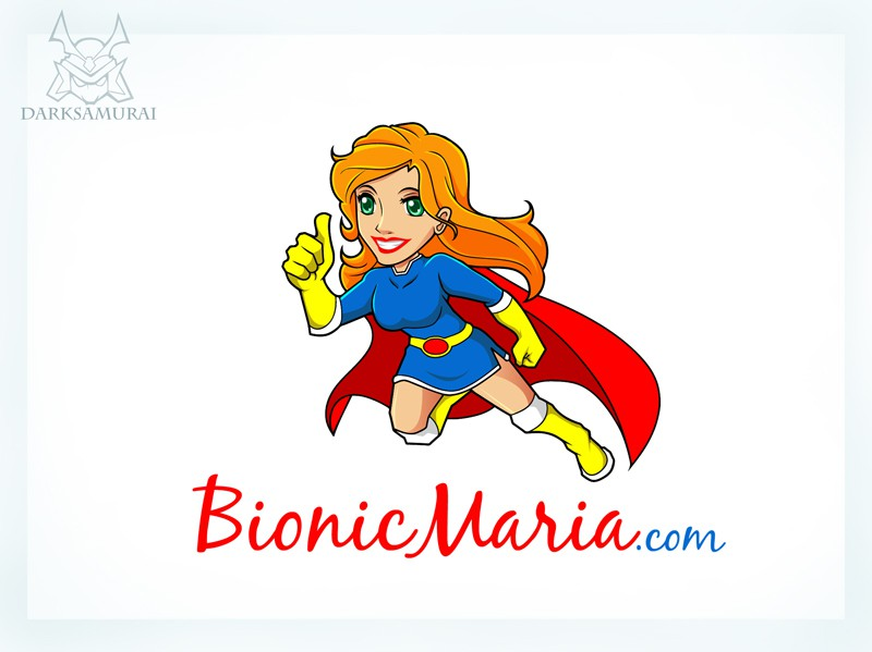 Help bionicmaria.com with a new logo