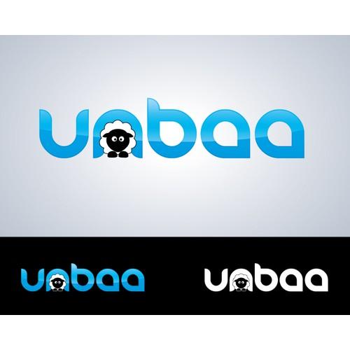 Web application logo for startup