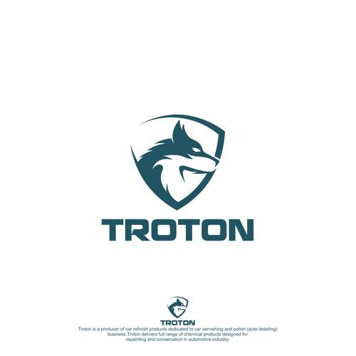 My original logo, for the Troton company.