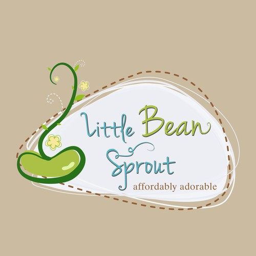Little Bean Sprout needs a new logo and business card