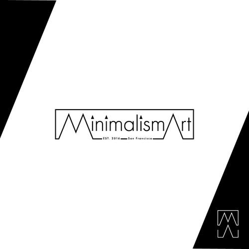 Minimalistic logo for stationery company