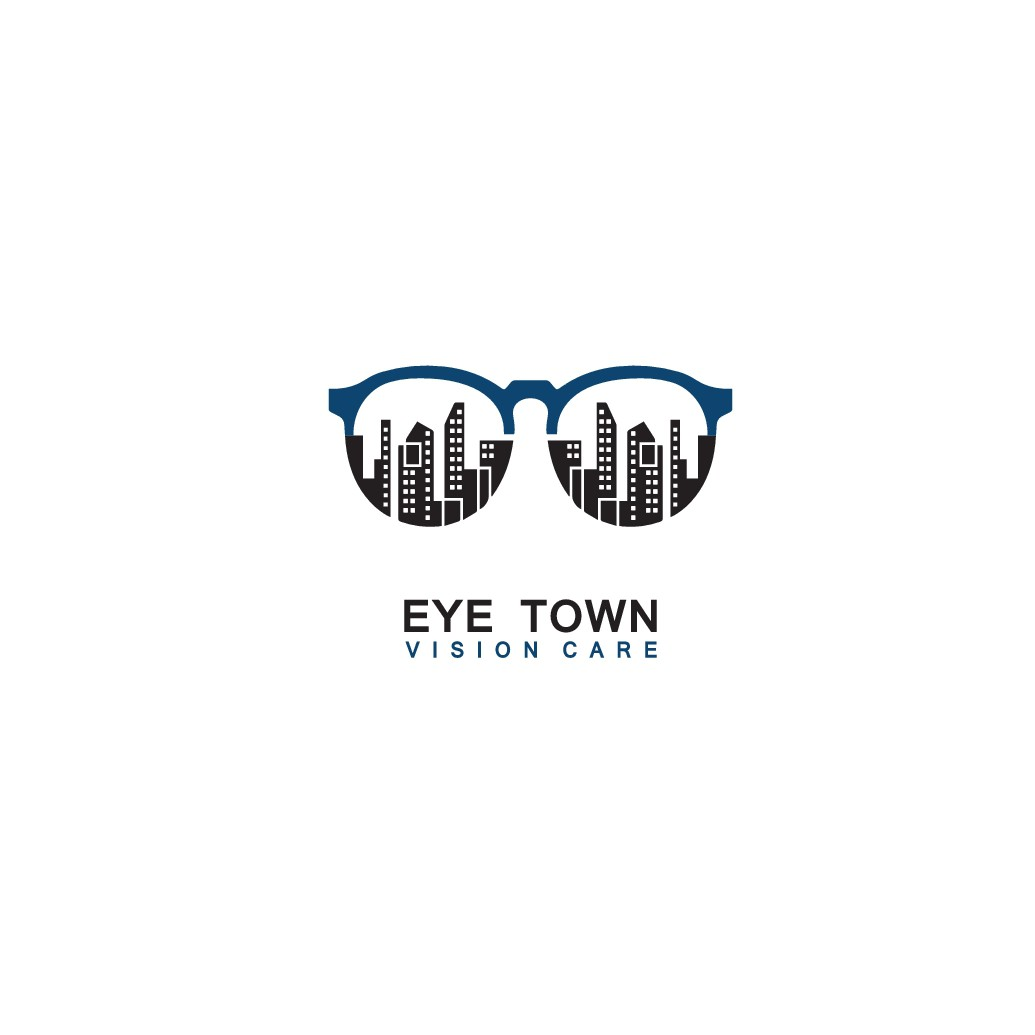Eye Town needs a creative double-meaning logo for optical store.