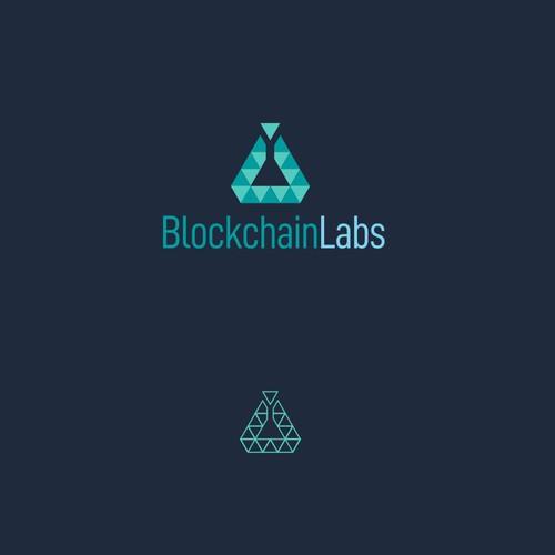 Blockchain lab's beaker