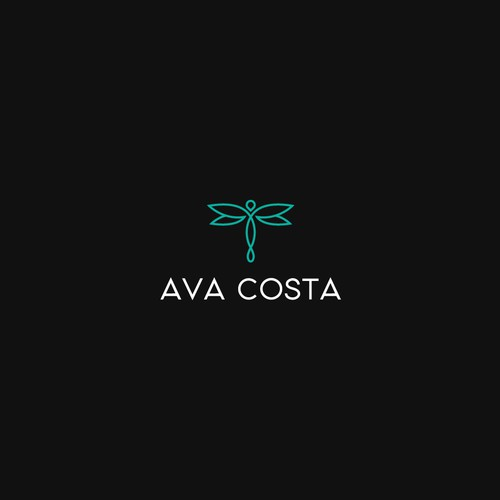 Bold logo concept for Ava Costa