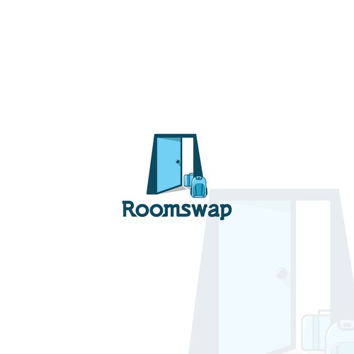 Logo illustration Roomswap