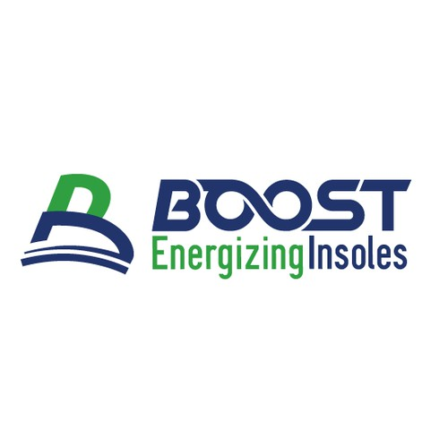 Create a high impact logo for Boost Energizing Insoles