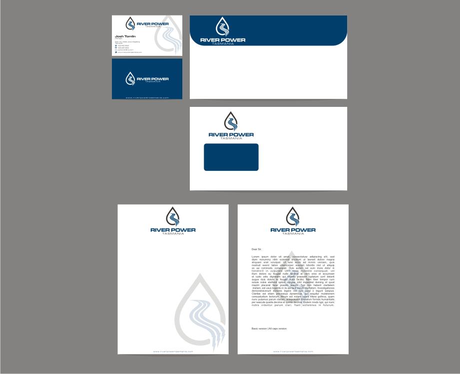 River Power Tasmania needs a new logo and business card