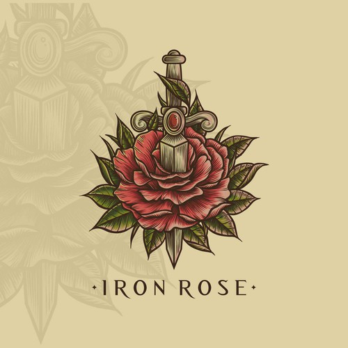 Unused design for Iron Rose