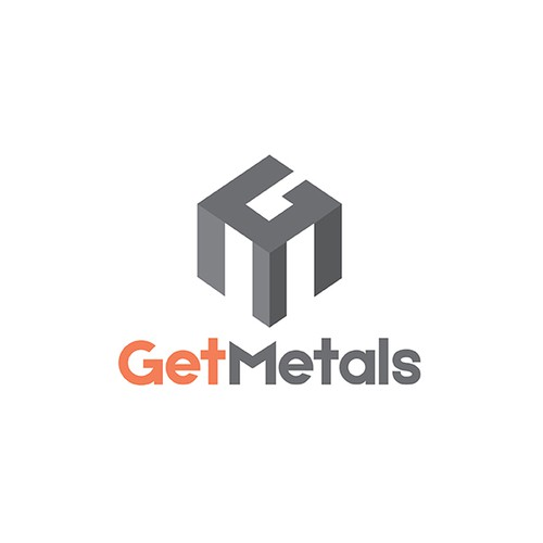 Logo for metal works company