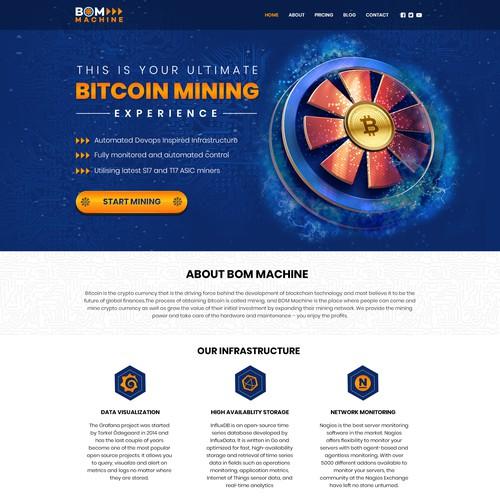 Bitcoin Mining Website