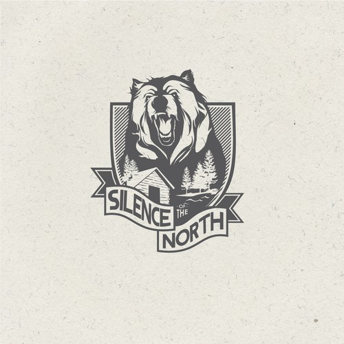 Logo concept for Hunting Camp