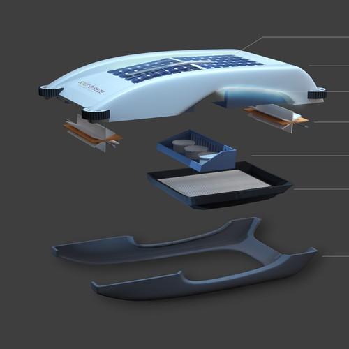 3D Concept Solarpool Product