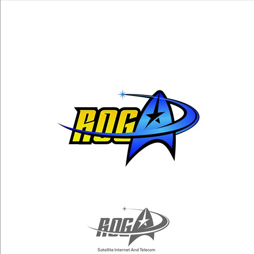 "Satellite Installers seeking a ""Star Trek"" themed logo"