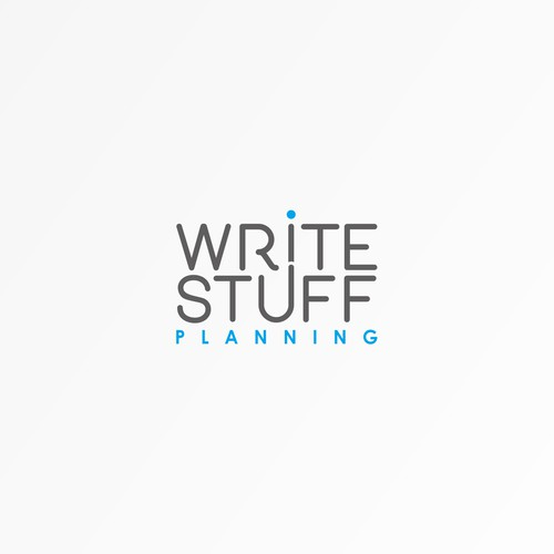 Simple, clean and unique! Write Stuff Planning.